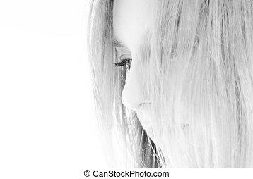 zwart wit, verticaal