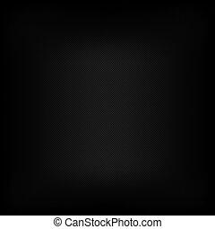 zwarte achtergrond, van, koolstof, vezel, textuur
