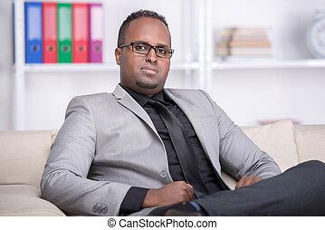 zwarte man