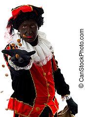 Zwarte Piet ( black pete) typical dutch character - Zwarte...