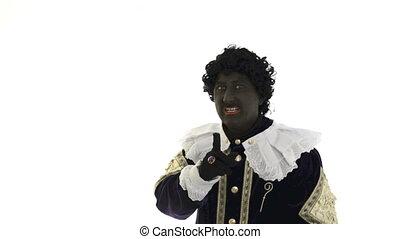 Zwarte Piet is acting funny