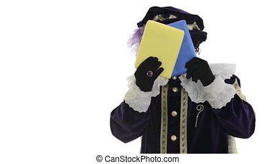 Zwarte Piet is hiding