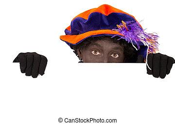 Zwarte Piet ,Sinterklaas (black pete) - Zwarte Piet ( black...