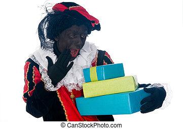 Zwarte Piet is a Dutch tradition during Sinterklaas, which...