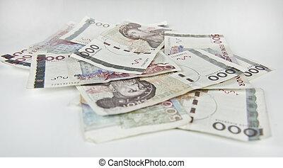 zweeds, rekeningen, 500, 1000