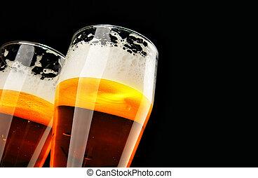 zwei, biere