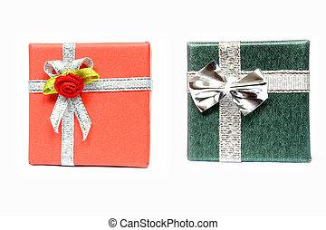 zwei, geschenke
