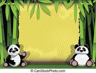 zwei, panda