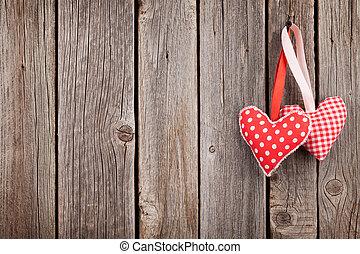 zwei, valentinestag, herzen