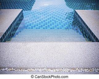 zwemmen, pool.
