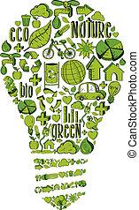 zwiebel, leichtes grün, umwelt, heiligenbilder