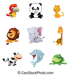 zwierzęce ikony