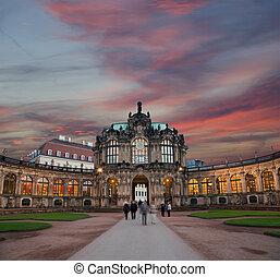 Zwinger Palace (Der Dresdner Zwinger) in Dresden, Germany
