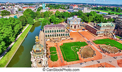Zwinger Palace (Der Dresdner Zwinger) Old Masters Picture...