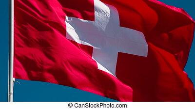 zwitserland, staatsvlag