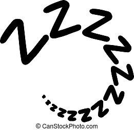 zzz, dormir